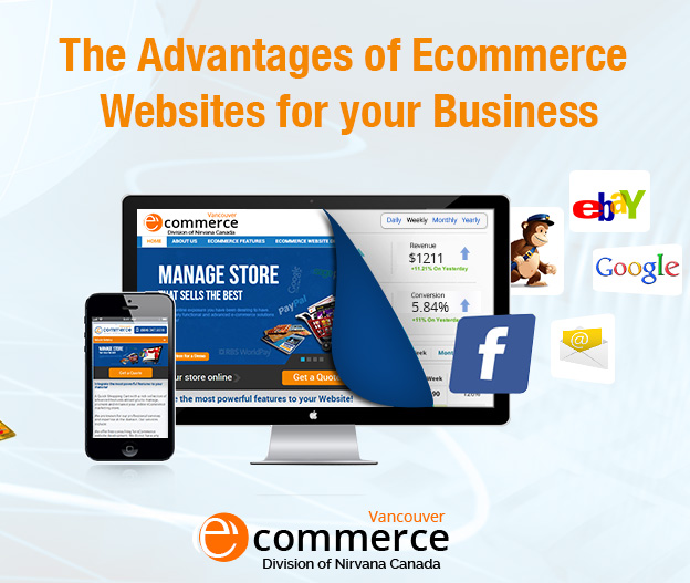 The Advantages of Ecommerce Websites for your Business The Advantages of Ecommerce Websites for your Business