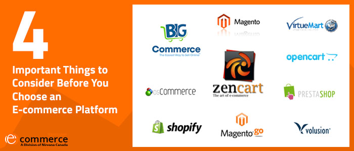 Important Things to Consider Before You Choose an E-commerce Platform