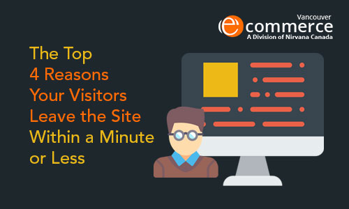 Top Reasons Your Visitors Leave the Site within a Minute